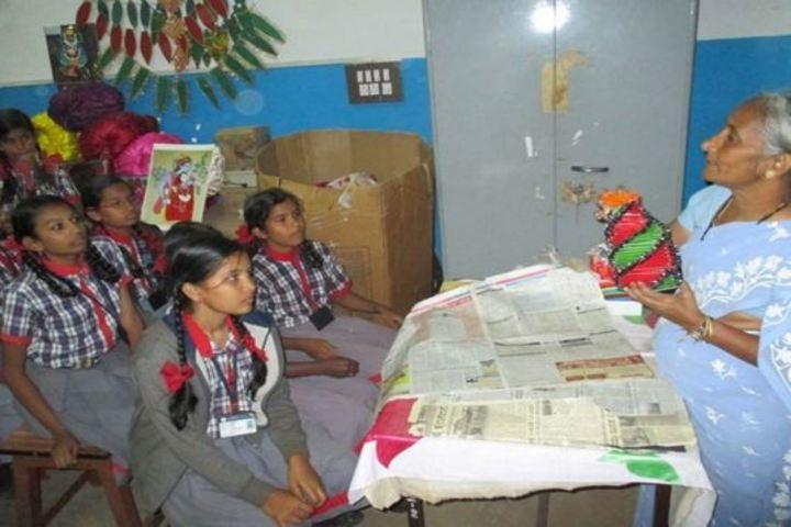 Kendriya Vidyalaya-Art and craft room