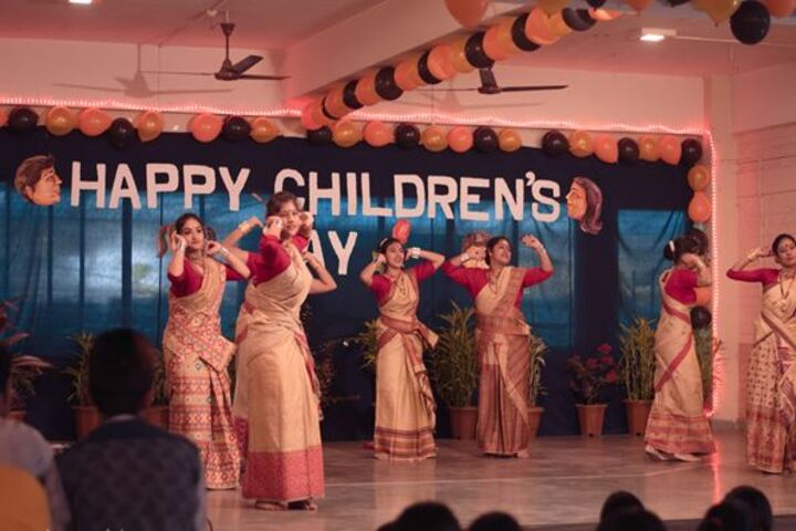Faculty Higher Secondary School-Childrens day