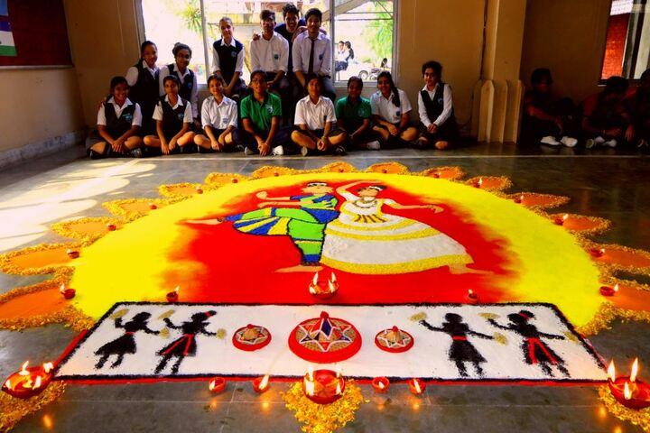 Faculty Higher Secondary School-Rangoli