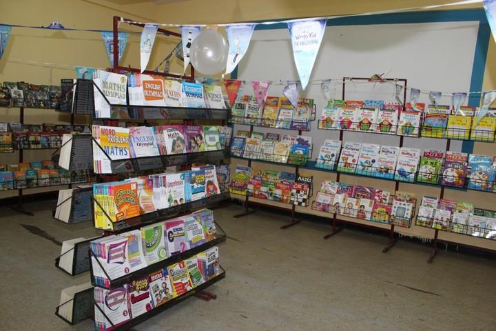 Kendriya Vidyalaya- Books Exhibition