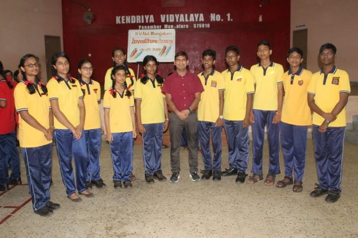 Kendriya Vidyalaya No1-Investiture Ceremony