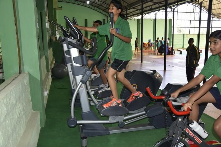 Kittur Rani Channamma Residential Sainik School For Girls-Gym