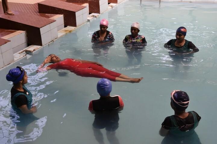 Kittur Rani Channamma Residential Sainik School For Girls-Swimming