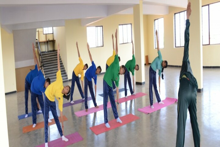KLS Public School-Yoga