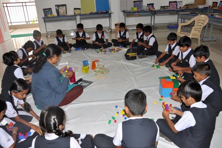 KNC Innovative Global School-Maths lab