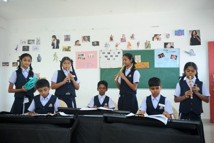 KNC Innovative Global School-Music Room