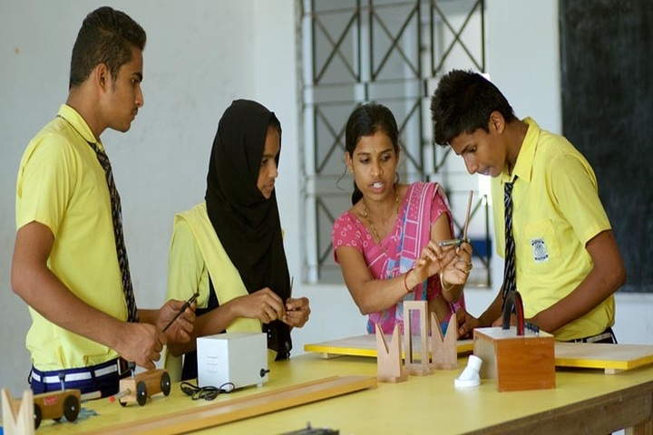 Kunil School- Physics lab
