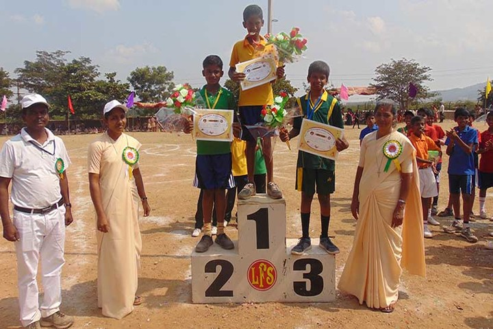 Little Flower English Medium School- Sports Prizes
