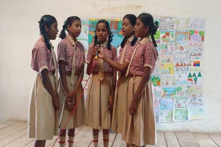 Little Flower English Medium School-Singing Competition