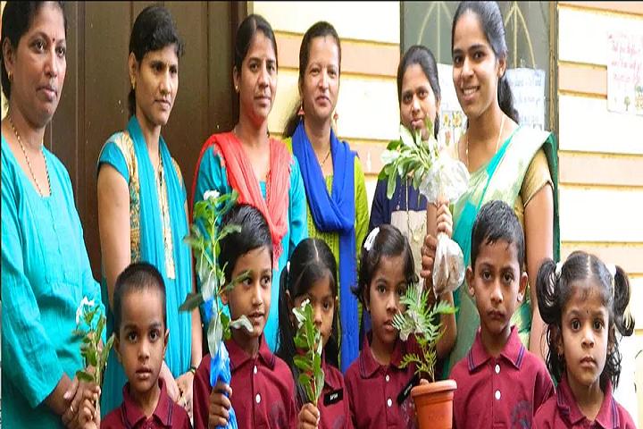 Lourdes School-Environment Day