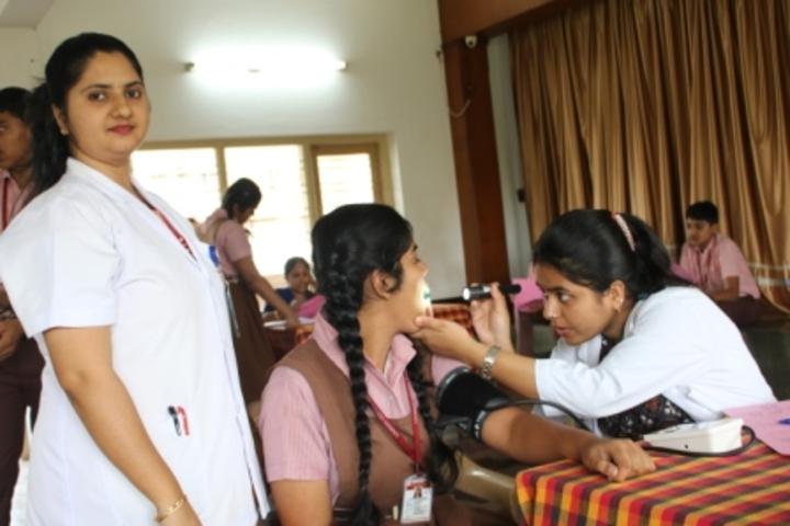Lourdes Central School-Health Checkup