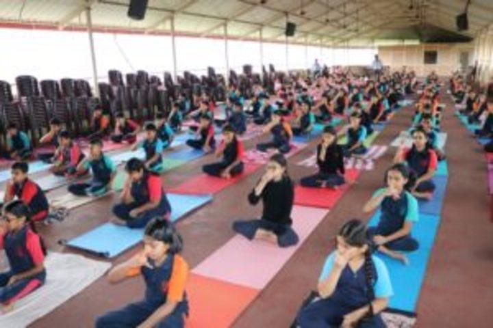Lourdes Central School-Yoga