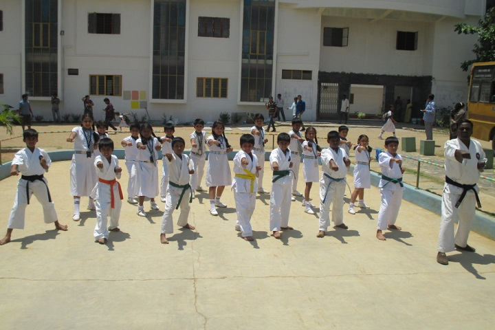 MHNational Public English School-Karate