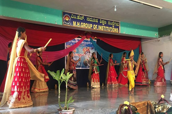 MHNational Public English School-Krishnastami Celebrations