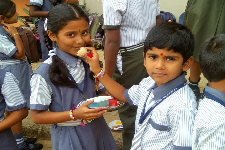 MHNational Public English School-Raksha Bandhan