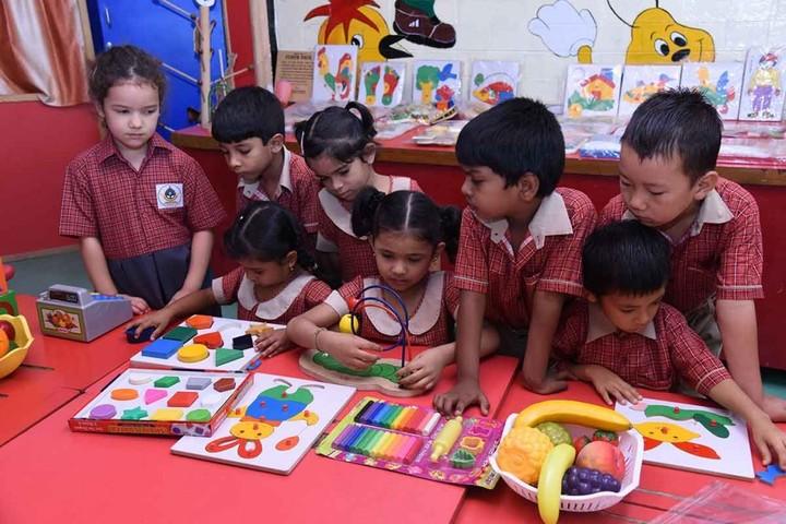Mahabodhi School-Activity room