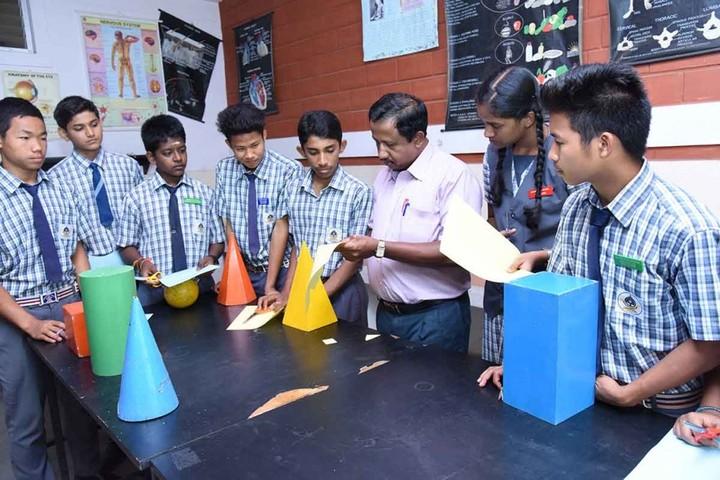 Mahabodhi School-Mathematics lab
