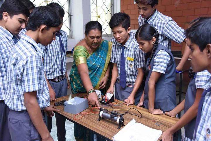 Mahabodhi School-Physics lab