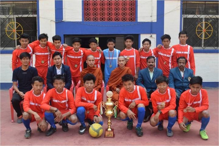 Mahabodhi School-Sports team