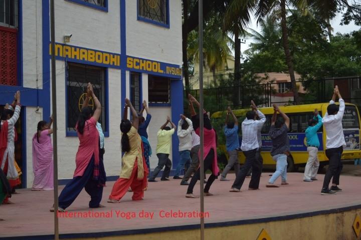 Mahabodhi School-Yoga