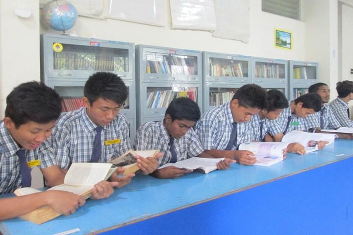 Mahabodhi School-library