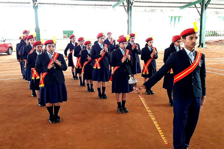 Mahajana Public School- Ivestiture ceremony