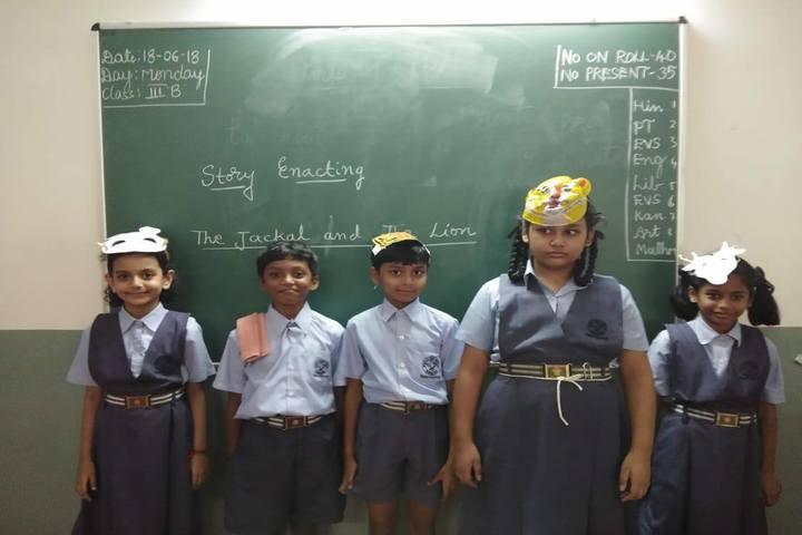 Mahila Seva Samaja-Story Enacting Activity