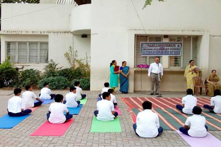 Mahila Seva Samaja-Yoga Day