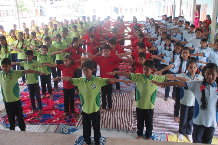 Green meadows school-Yoga