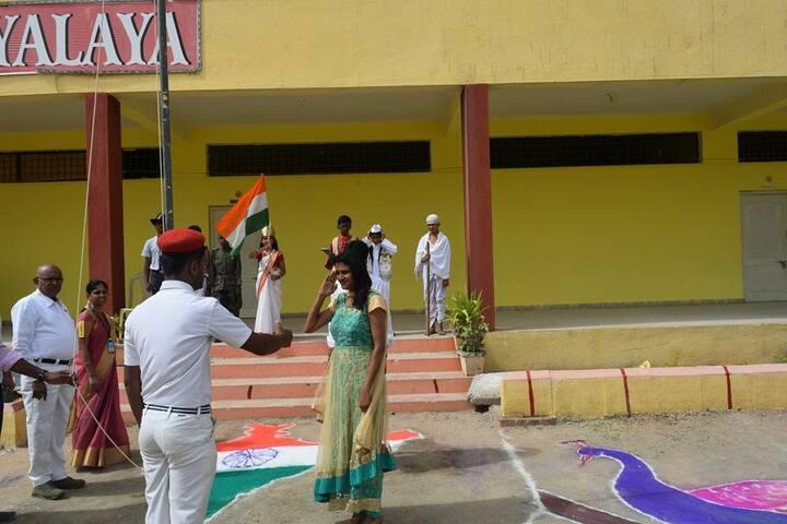 Manasa Vidyalaya-Independence Day