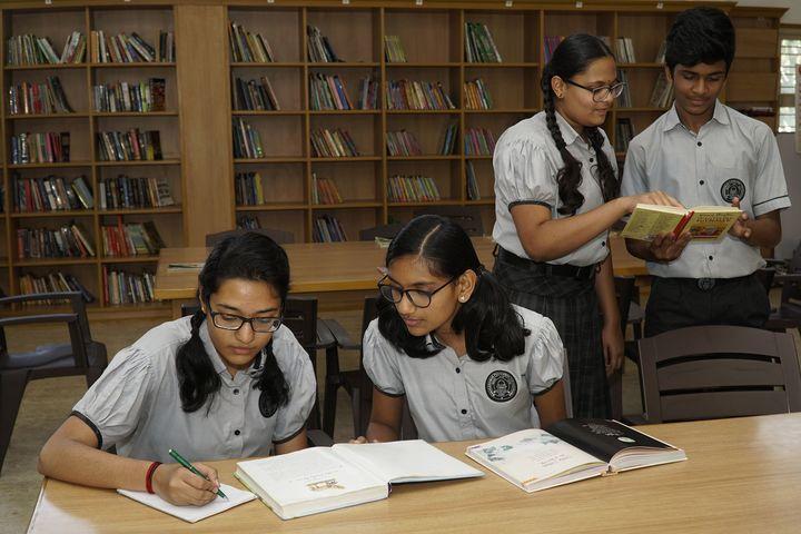 Manasarowar Pushkarini Vidyashrama-Library