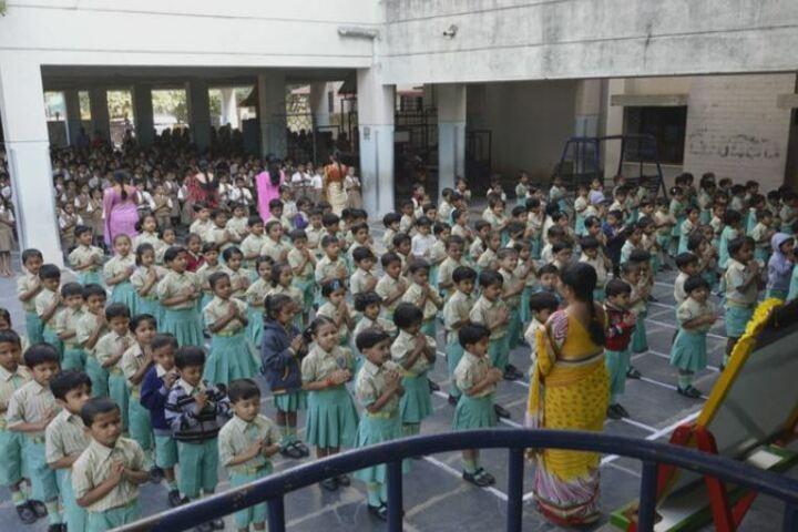 Mandara Jnanadayini School-Assembly