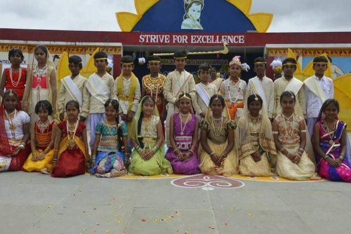 Mandara Jnanadayini School-Janmasthami Celebrations