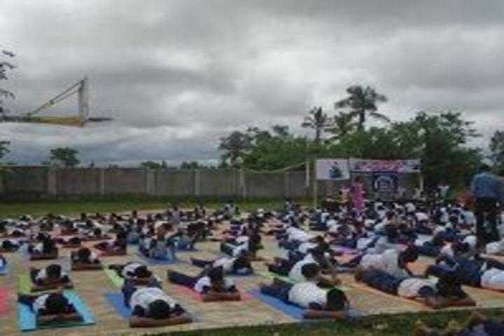 Mandara Jnanadayini School-Yoga Day