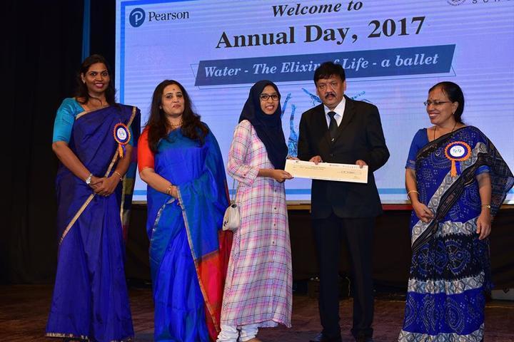 Manipal School-Prize Distribution