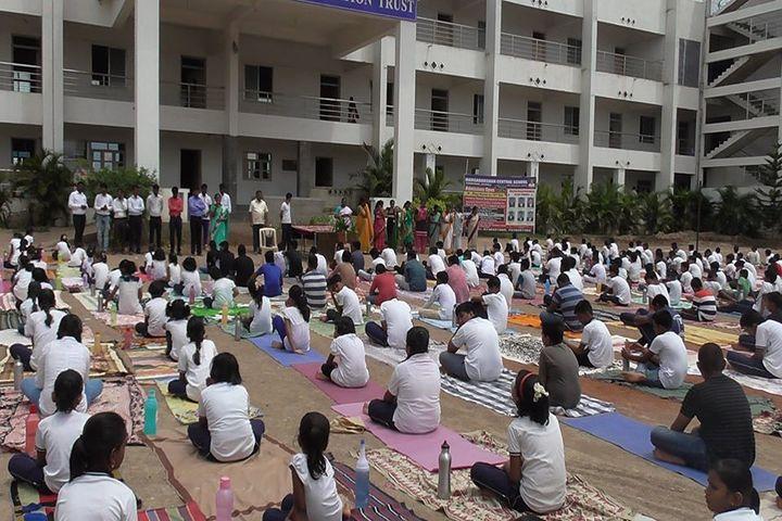 Margadarshan Central School-Yoga Activity