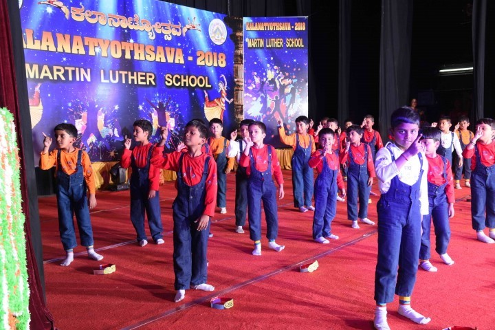 Martin Luther Public School-Dance Activity