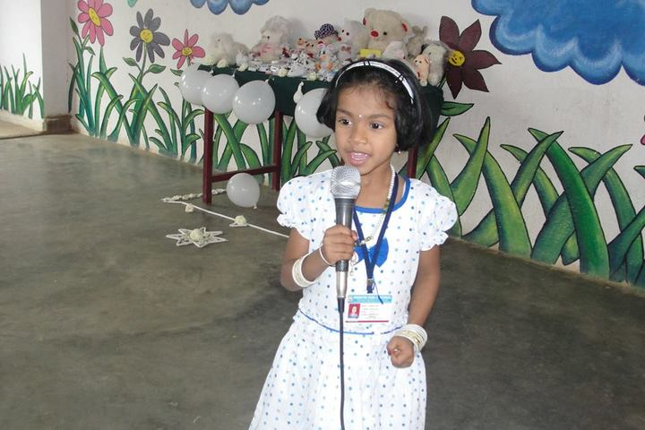 Maruthi Public School-Singing Activity