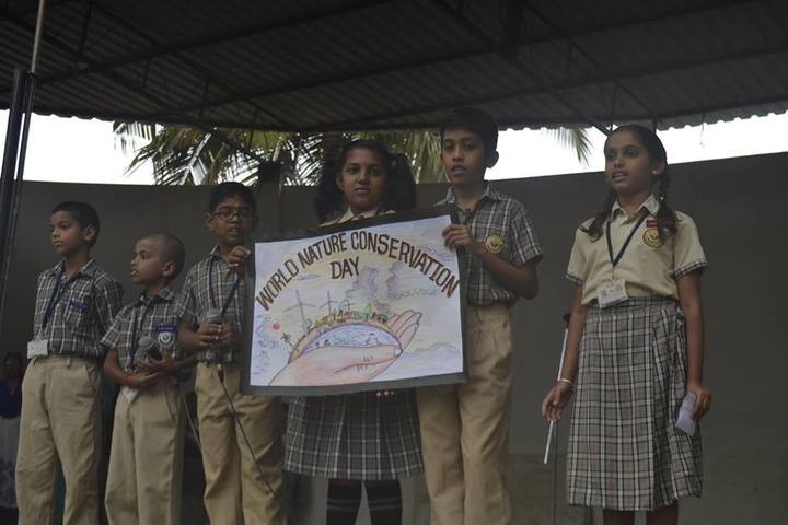 Maruthi Vidya Kendra-Nature Conservation Day
