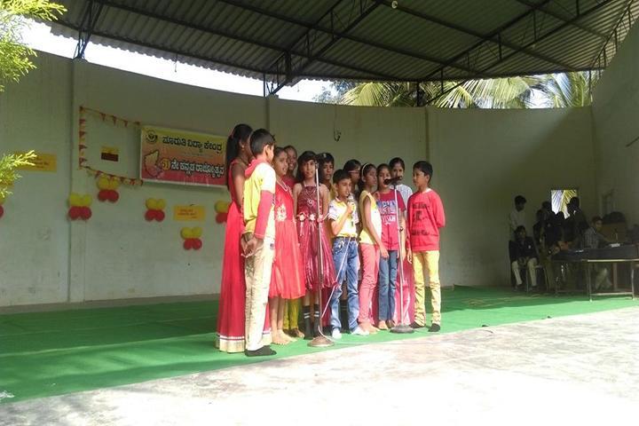 Maruthi Vidya Kendra-Singing Activity