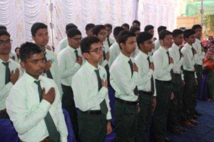 Maruthi Vidyalaya-Assembly