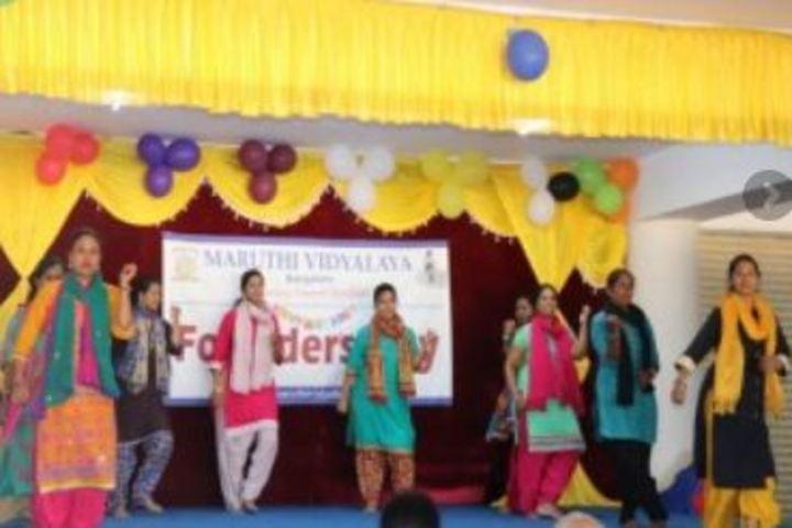 Maruthi Vidyalaya-Dance Activity