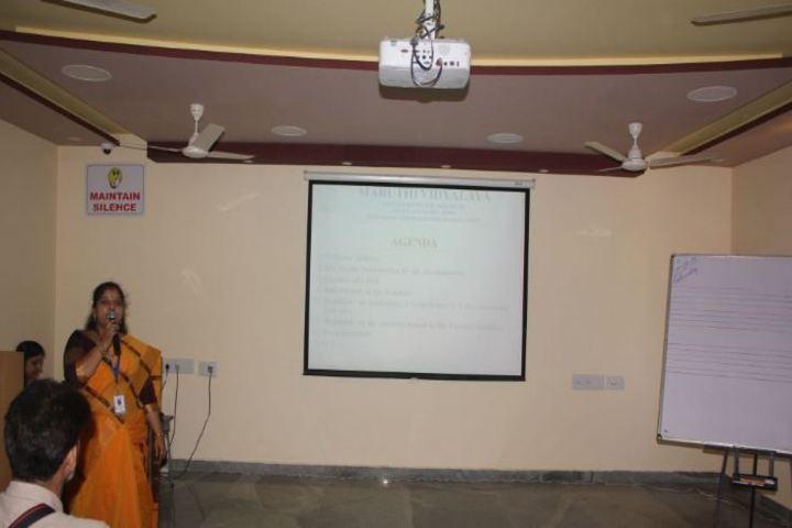 Maruthi Vidyalaya-Orientation Program