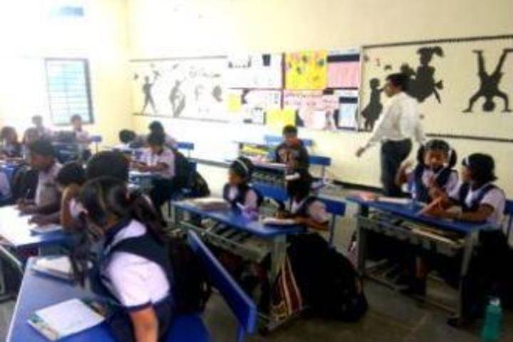 Mata Lakshmi Public School-Classroom