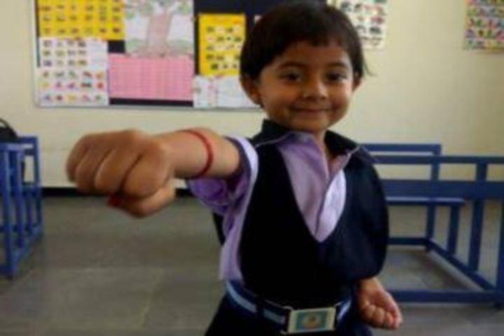 Mata Lakshmi Public School-Karate