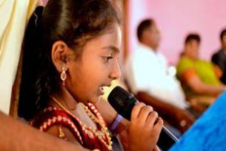 Mata Lakshmi Public School-Singing Activity