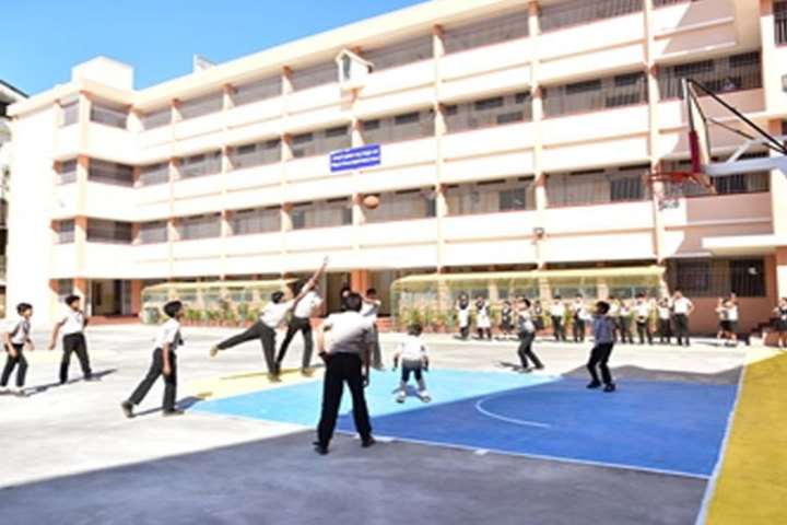Milagres English Medium Higher Primary School-Basket Ball Court