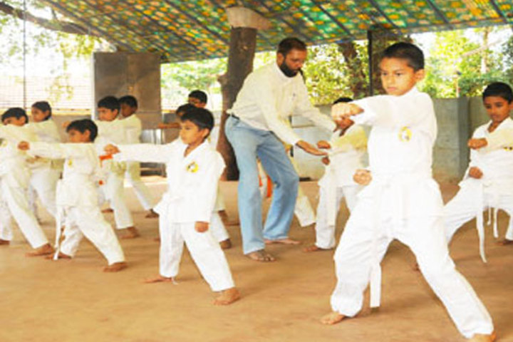 Milagres English Medium Higher Primary School-Karate