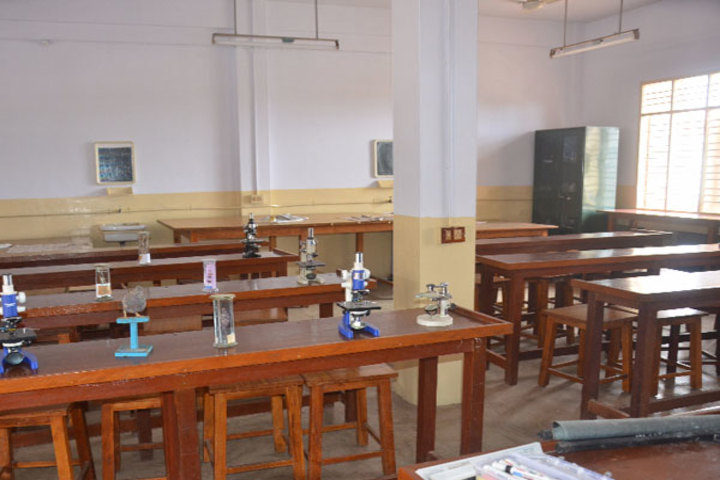 Milagres English Medium Higher Primary School-Science Lab