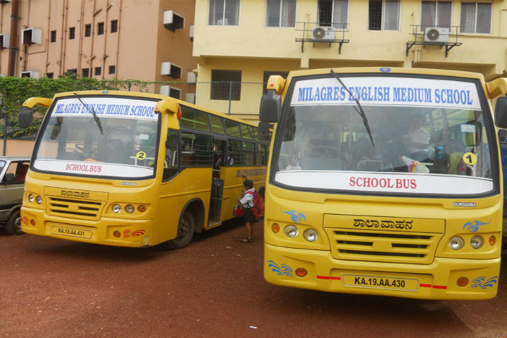 Milagres English Medium Higher Primary School-Transport